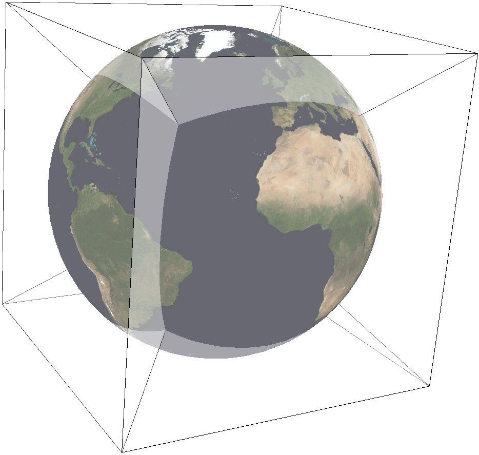 Quadrilateralized Spherical Cube